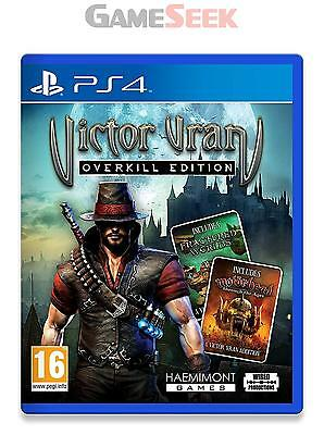 Victor Vran: Overkill Edition - Playstation Ps4 Brand New Free Delivery