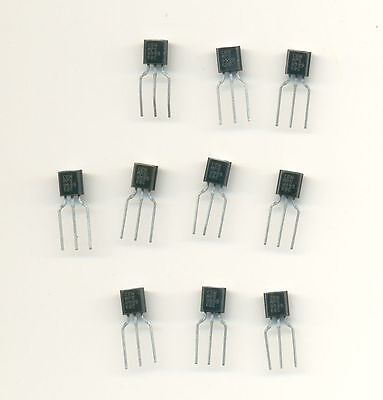 MPS8599 PNP Silicon Transistor TO-92 Pack of 10 - New, Old Stock