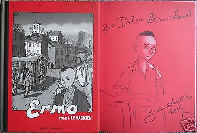loth - ermo tome 1 - BD avril 2008 + belle dedicace