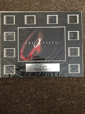 X Files 1998 Limited Edition Film Cell 1/500
