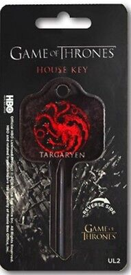 Game Of Thrones House Of Targaryen UL2 House Key Blank