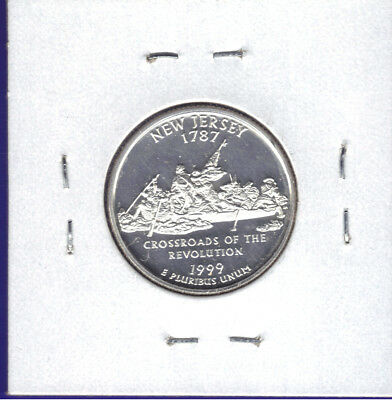 1999-S New Jersey Deep Cameo Proof  States Quarter