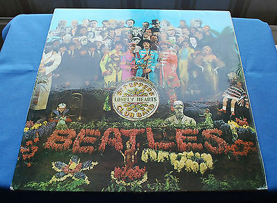 BEATLES  Sgt  PEPPER  UK first press  MONO   from 1967 EX/EX