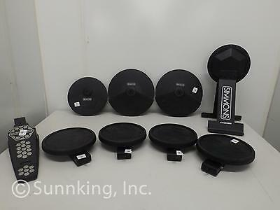 Simmons S1000 Dual Zone Electric Drum Pad Set (9 Pieces)