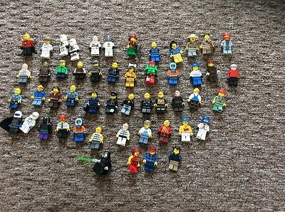 50 Lego Men Figures Job Lot