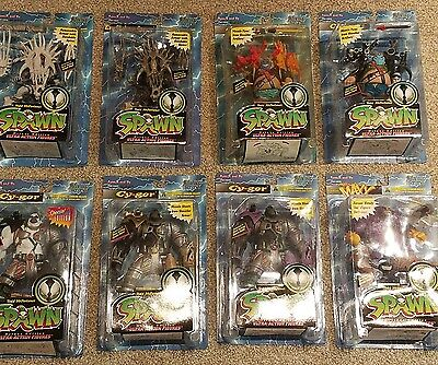 Awesome Lot of 8 MOC McFarlane Toys SPAWN SERIES 4 1996 Action Figures NM Maxx
