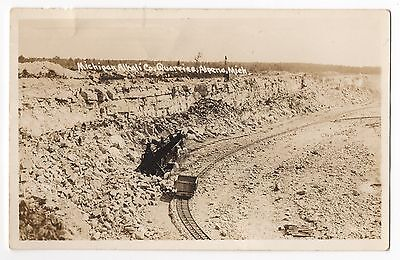 RPPC~1950c~RAILROAD CAR~Michigan Alkali Company Quarry~Alpena, Michigan