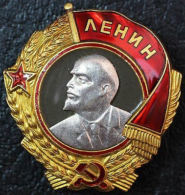 Order of LENIN Sn.13340  Screw Russia USSR Gold & Platinum