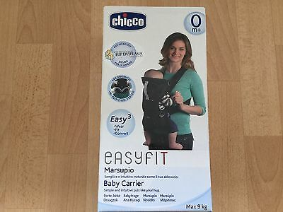 Chicco EasyFit Baby Carrier Black Night - NEW