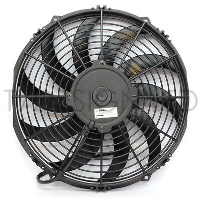 "VA10-AP50/C-61A - 1221 cfm - SPAL Electric Radiator Fan - 12.0"" (305mm) PULL"