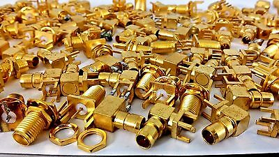 1LB Gold Scraps Recovery 154 Connectors Pins All Gold Plated High Yield 453g
