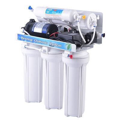 5 Stage Reverse Osmosis Water Filtration System Auto Flush - Free Freight