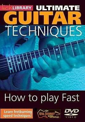 How to Play Fast Volume 1 Ultimate Guitar Techniques Series DVD 000393027