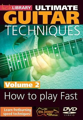 How to Play Fast Volume 2 Ultimate Guitar Techniques Series DVD 000393042