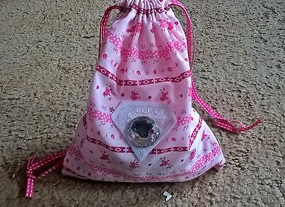 Girls Flowery bits'n'bobs/Soap Gift Pouch