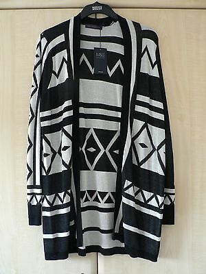 Bnwt Marks & Spencer Long Line Cardigan. Size 18