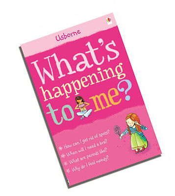 Girls Book Detailed Informative Guide To Female Puberty What's Happening to Me?
