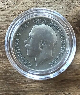 1920 GEORGE V SILVER SIXPENCE COIN IN GOOD CONDITION, Ideal For Collector