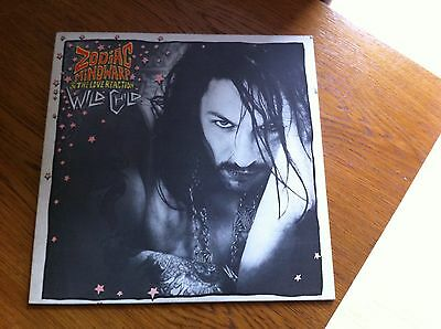 Zodiac Mindwarp & Love Reaction - Wild Child 12-inch EP - 1985 Food Original