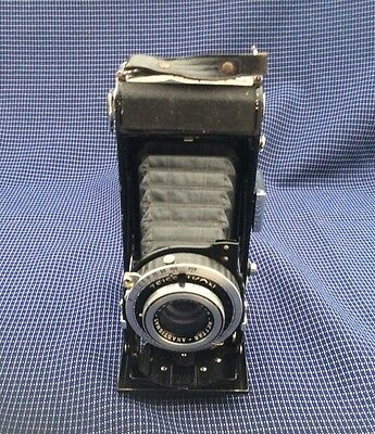 Old Vintage Zeiss Ikon Nettar 515/2  Folding Camera