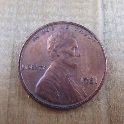 Vintage Magic Trick Coin Two Headed Penny 1981 Joke Gag Prank Coin
