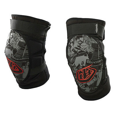 NEW Troy Lee Designs Semenuk Knee Guards Black All Sizes MOUNTAIN MTB PROTECT