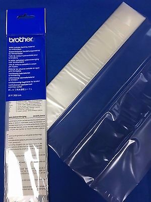 Brother Water Soluble Embroidery Stabilzer (Wash Away) 3M x 28cm #BM5