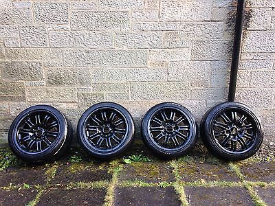 E46 BMW M3 Staggered Alloy Wheels
