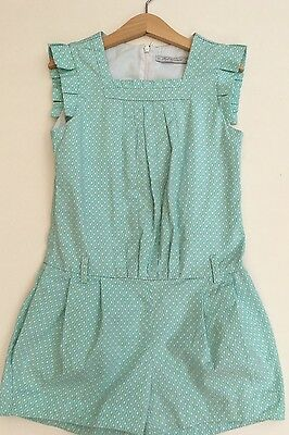 *MAYORAL CHIC* girls printed Playsuit (7-8 Years) summer Shorts Outfit