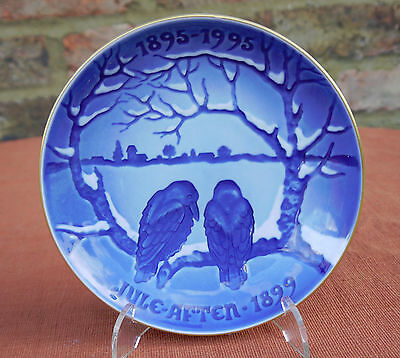 """Bing & Grondahl  """"The Crows""""  1st Plate in the Centennial Collection"""
