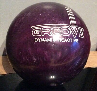 Groove Bowling Ball, Tenpin. Dynamic Reactive