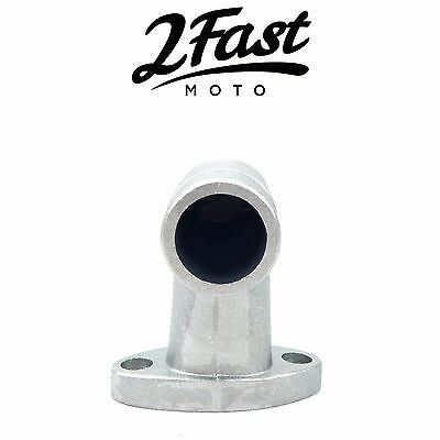 Puch Moped Style Intake Manifold for Bing Carb Carburetor 20mm OD / 15mm ID