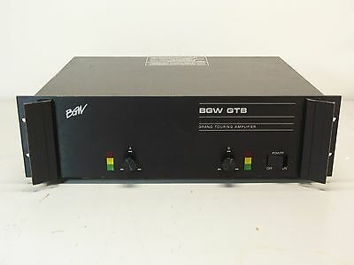 BGW GTB Grand Touring Power Amplifier (NOS) Stereo/Bridgeable - 500 WPC @ 4 ohms
