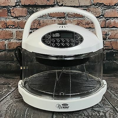 Hearthware Home Products Mini Nuwave Infrared Oven Model 20102 - 800 Watts White