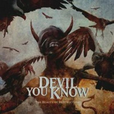The  Beauty of Destruction [Digipak] DEVIL YOU KNOW CD ( FREE SHIPPING)