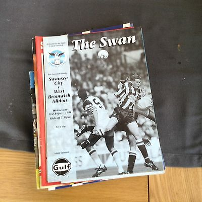 Swansea City V West Bromwich Albion 3/8/94 Friendly