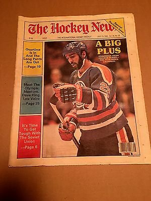 The Hockey News, July 15, 1983, Vol 36 No 35, 31 Pages, 11 X 16, Huddy On Cover