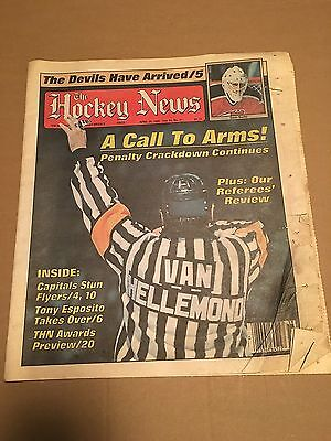 The Hockey News, Apr 29, 1988 Vol 41 No 31, 44 Pages, 11 X 16, Burke On Cover