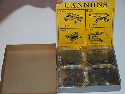 1940's Dittocast Metal Model Kit Cannons Store Counter Display