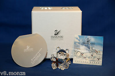 SWAROVSKI FIGURINE CELEBRATION KRIS BEAR WITH CHAMPAGNE 238168 MINT IN BOX w COA