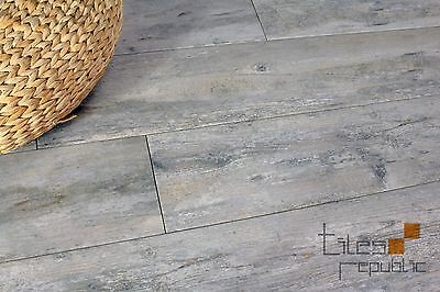 Peel Wood Dusk Timber Look Porcelain Floor & Wall Tile 180x1080