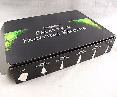 Grumbacher Palette & Painting Knives Set of 72 NEW Trowel Spatula Plastic Tools