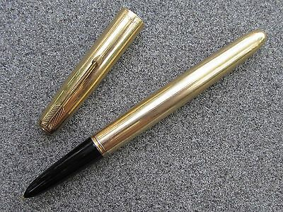 Vintage 1951 Restored Parker 51 Signet Fountain Pen