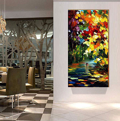 Large Modern Abstract Asian Art Oil Painting Wall Decor canvas Gowith(No Frame)