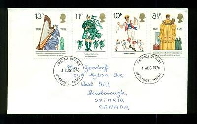 UK GREAT BRITAIN: Post Office First Day of Issue Cover 1976