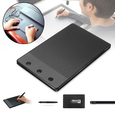 Huion H420 Pro USB Art Graphics Drawing Writing Tablet Board Pad Mat Digital Pen