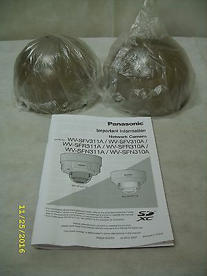 **2-Pack** Smoked Dome Replacement for Panasonic Network Surveillance Camera NEW