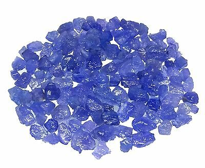 500 Ct 100% Natural Uncut Violet Blue Tanzanite Sorted Top Quality Raw Rough Lot