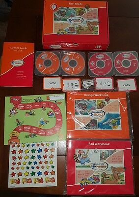 Hooked on Phonics Learn to Read First (1st) Grade Set 2005 CD Edition
