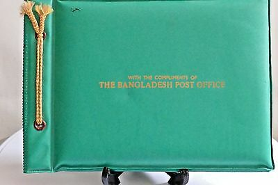 Bangladesh Post Office Album Of Commemorative Stamps Entry Into United Nations